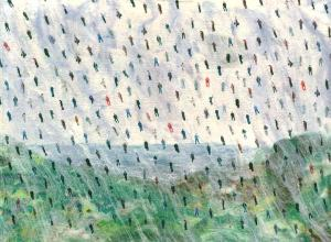 semi-abstract-textile-art-its-raining-men