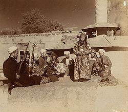 Bacha Bazi di awal tahun 1900an