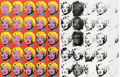 Sturtevant sengaja mencatut hasil karya Andy Warhol tanpa ijin.