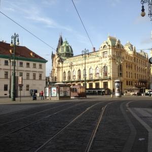 Minggu pagi di Praha. (Photo by Nauval Yazid)