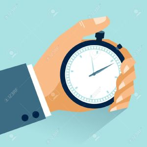 24960207-Time-management-Vector-modern-illustration-in-flat-style-with-male-hand-holding-stopwatch-Stock-Vector