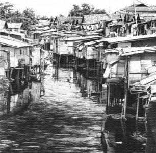 """Kali Ciliwung - Sunda Kelapa"" by Ken Pattern"