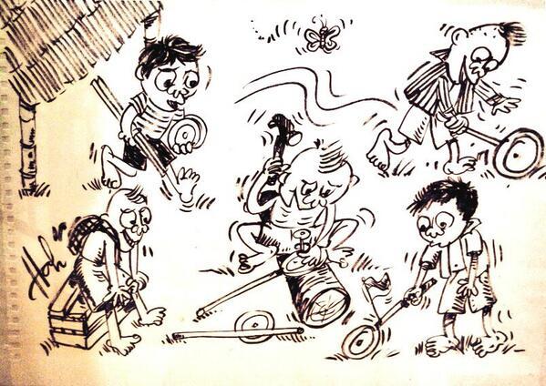 kartun-masa-kecil